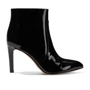 Sam Edelman Patent Leather Ankle Boot Black Sz 7.5